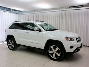 2015 Jeep Grand Cherokee LIMITED 4X4 SUV w/ LEATHER, MOONROOF &
