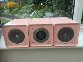 Pink girlie micro Hi/Fi system