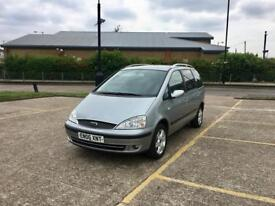 2006 FORD GALAXY 1.9 TDI GHIA – ONLY 89K LOW WARRANTED MILEAGE, DIESEL, MANUAL, MOT, 7 SEATER MPV