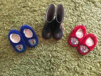 Boys shoe bundle size c6 and c7