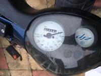 Piaggio zip 50cc 62 plate 2 stroke