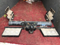 Ford transit mark 7 towbar with step