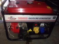 240/110v 2.4 kw petrol generator