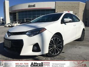 2015 Toyota Corolla S. Backup Camera, Paddle Shifters, Alloy's.