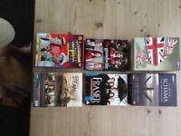 DVD Box Set Bundle/Job Lot - Dads Army/Simon Sharma/Larel & Hardy/Steam Trains Etc Etc