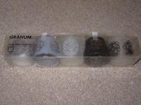 Ikea Glass Tealight Candle Holders