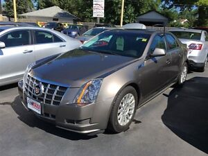 2012 CADILLAC CTS AWD V6 - PANORAMIC SUNROOF, LEATHER HEATED MEM