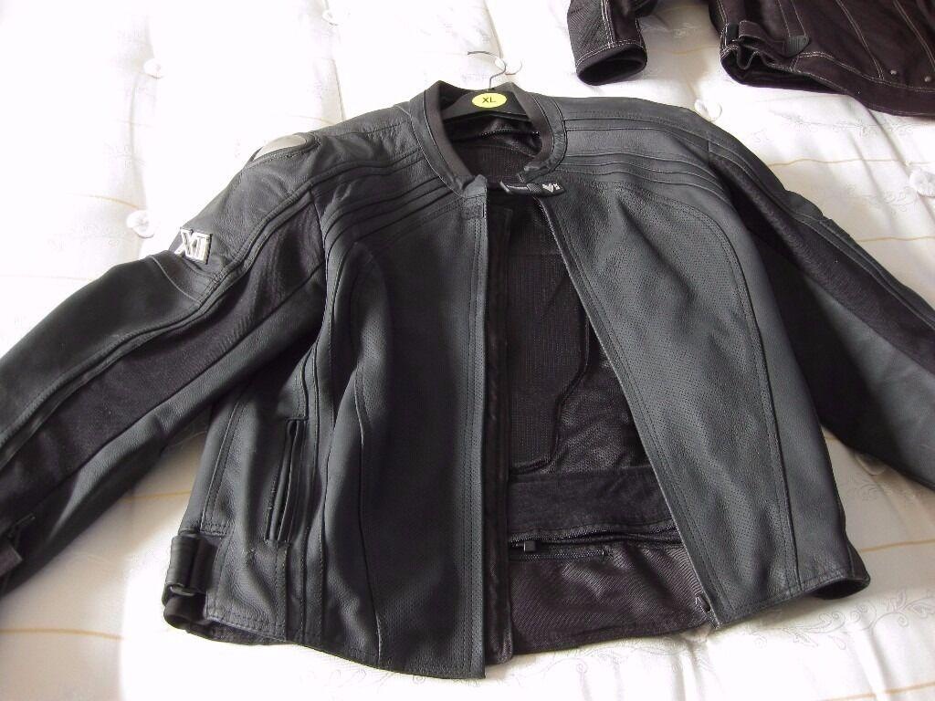 As NEW Frank Thomas XL Leather XTi Coat