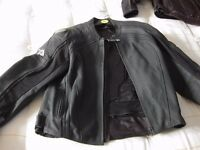 As NEW Frank Thomas XL Leather XTi Coat