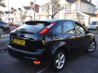 !!! FORD FOCUS ZETEC 1.6 AUTOMATIC 2007 PLATE !!! 45,000 MILES ONLY !!! CLIMATE PACK 5 DOORS BLACK