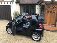 2008 SMART FORTWO PASSION 1.0 84BHP CONVERTIBLE YEARS MOT+SERVICED+HEATED LEATHER PART EX? CHEAPEST!
