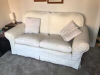 Sofa - cream coloured