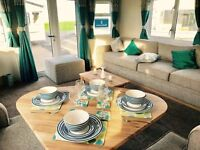 NEW **2017** static caravan for sale with DG & CH - front opening doors at Sandy Bay Holiday Park