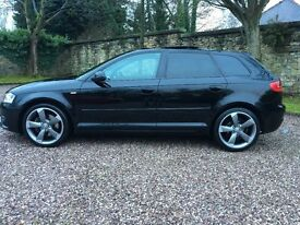 AUDI A3 BLACK EDITION PAN ROOF 170 BHP