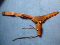 leather holster and toy gun for dressing up