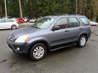 2006 Honda CR-V Low Km's, Immaculate Condition!