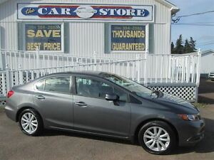 2012 Honda Civic EX!! 5 SPEED MANUAL!! SUNROOF!! HEATED SEATS!!