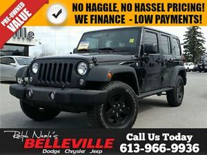 2016 Jeep WRANGLER UNLIMITED Sport-Dual Tops-Navigation