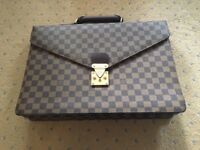 Vintage Louis Vuitton briefcase in excellent condition. Rarely used.