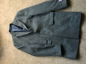 Men's Next Large Grey Overcoat