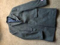 Men's Next Large Grey Overcoat