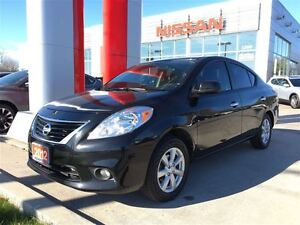 2012 Nissan Versa 1.6 SL SEDAN, ALLOYS, BLUETOOTH/USB