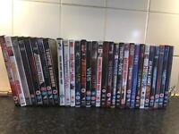 30 DVD's...bargain! Only £15 for them all! Offers accepted.