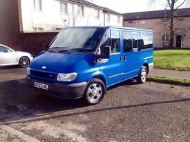 Ford tourneo 9 seater may px Vauxhall zafira ford galaxy Toyota townace 7 seater