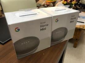 Google Home Mini Smart Speaker BNIB