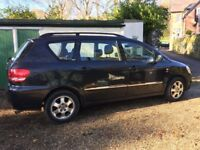 Toyota Avensis Verso GLS Diesel, one owner from new, 169000 miles, full service repair history.