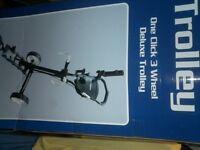 New ben sayers 3 wheel 1 click golf trolley
