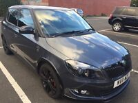 SKODA FABIA MONTE CARLO 1.6 TDI 2011 TOP SPEC GREY £20 ROAD TAX A YEAR PX WELCOME SWAPS WELCOME