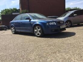 Audi A4 1.8t s-line may swap or brake