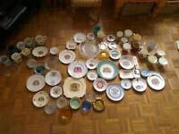 Collectible Royal Family ceramic and glass job lot. 60+ items