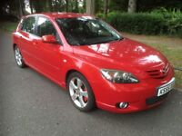 MAZDA 3 SPORT 2.0 150 BHP EDITION, MANUAL, 12 MONTH MOT, LEATHER, BOSE, PARKING AID, FULLY LOADED