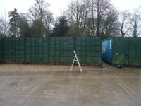 40 Foot Containers available for self storage £80.00 per month plus vat