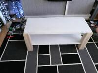 living room table and tv unit / table
