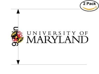 University System Of Maryland Logo 2 Stickers 9.5 Inches Sticker Decal](University Of Maryland Logo)