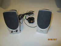 Mains powered TRUST PC Stereo speakers