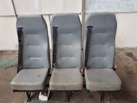 Transit 3 seater bench