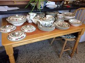 indian tree johnson brothers china 77 pieces for sale