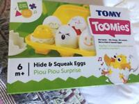 Tomy baby toy eggs