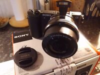 Sony Alpha A5100 24.3MP Digital Camera - Black (Kit w/ 16-50mm Lens) +++MINT+++