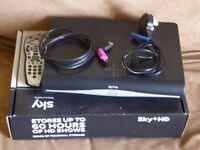 Boxed Sky+ HD Box + Remote + HDMI Cable