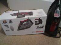 CAN DELIVER Bosch iron sensixx DA20 red black iron pladdium plate New boxed