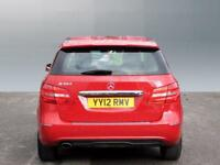 Mercedes-Benz B Class B180 BLUEEFFICIENCY SE (red) 2012-07-10