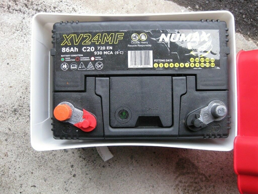 Numax Xv24mf 86ah Leisure Battery With Box New Sold Sold
