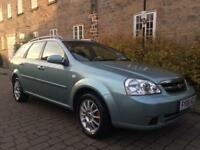 CHEVROLET LACETTI 1.6 SX ESTATE CAR LOW MILEAGE EX MOTABILITY FULL MOT TOTALLY IMMACULATE