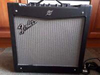 Fender Mustang II Guitar Amp and Pedal