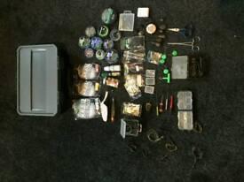 Greys prodigy box fully loaded with carp gear